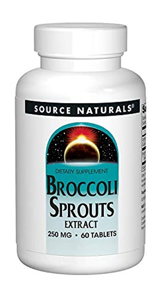 宿泊繰り返した惨めなSource Naturals Broccoli Sprouts (60T)ブロッコリー?スプラウト《ブロッコリーの新芽》~海外直送品~ (2 Packs)