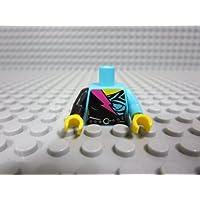 レゴ ミニフィグ 【トルソー】 1112_Medium Azure