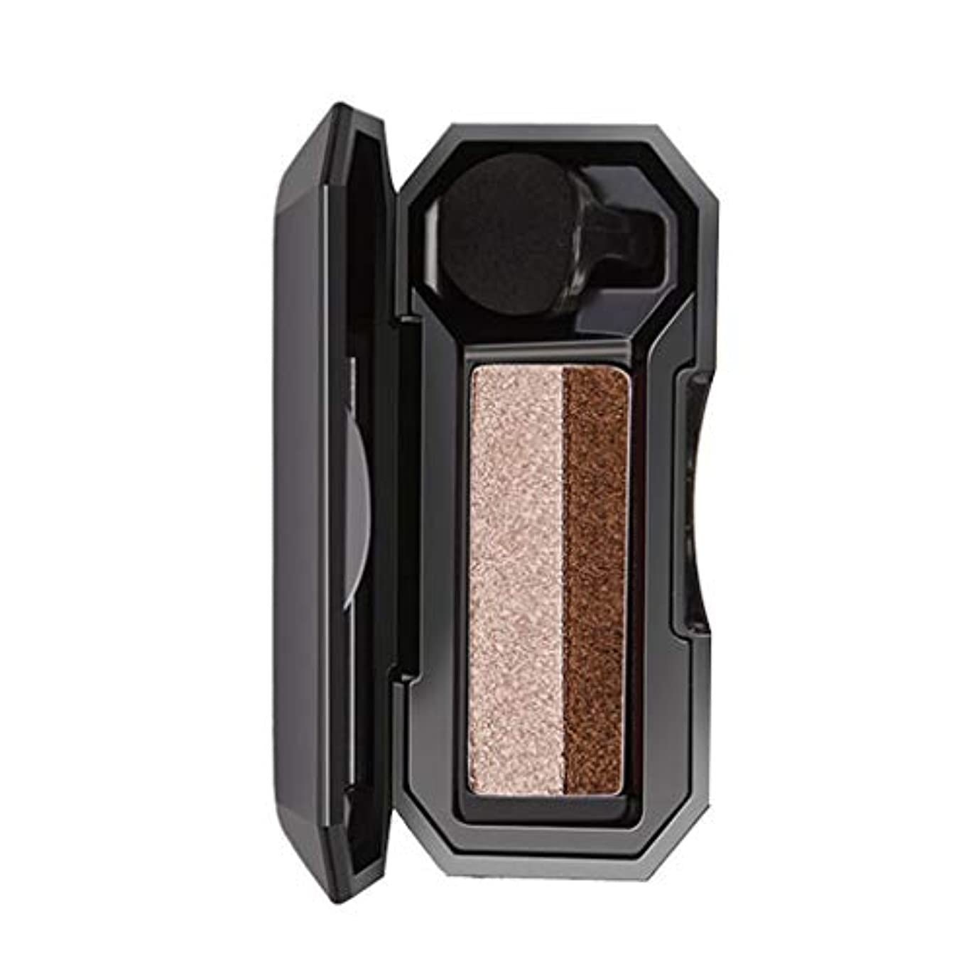 コールドビジネスホイストシマー2色スタンプアイシャドウパレット化粧パウダー柔軟性持続
