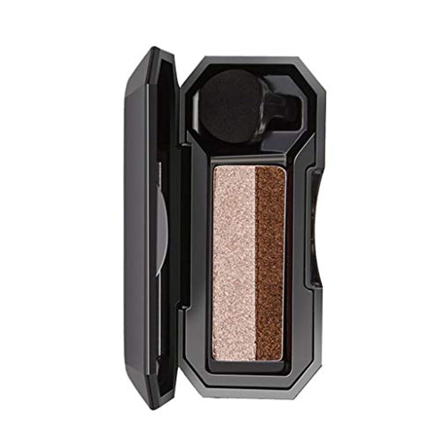 内なるルー旅行シマー2色スタンプアイシャドウパレット化粧パウダー柔軟性持続