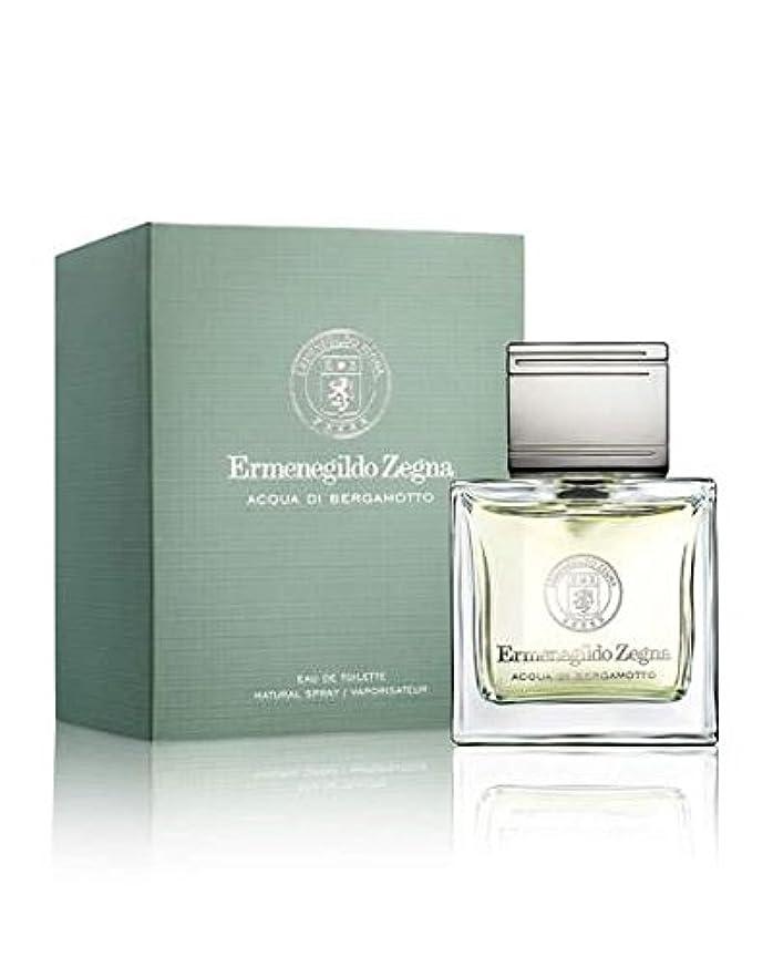 割り込み陰謀パックErmenegildo Zegna Acqua Di Bergamotto (エルメネジルド ゼニア アクア ディ ベルガモット) 1.7 oz (50ml) EDT Spray for Men