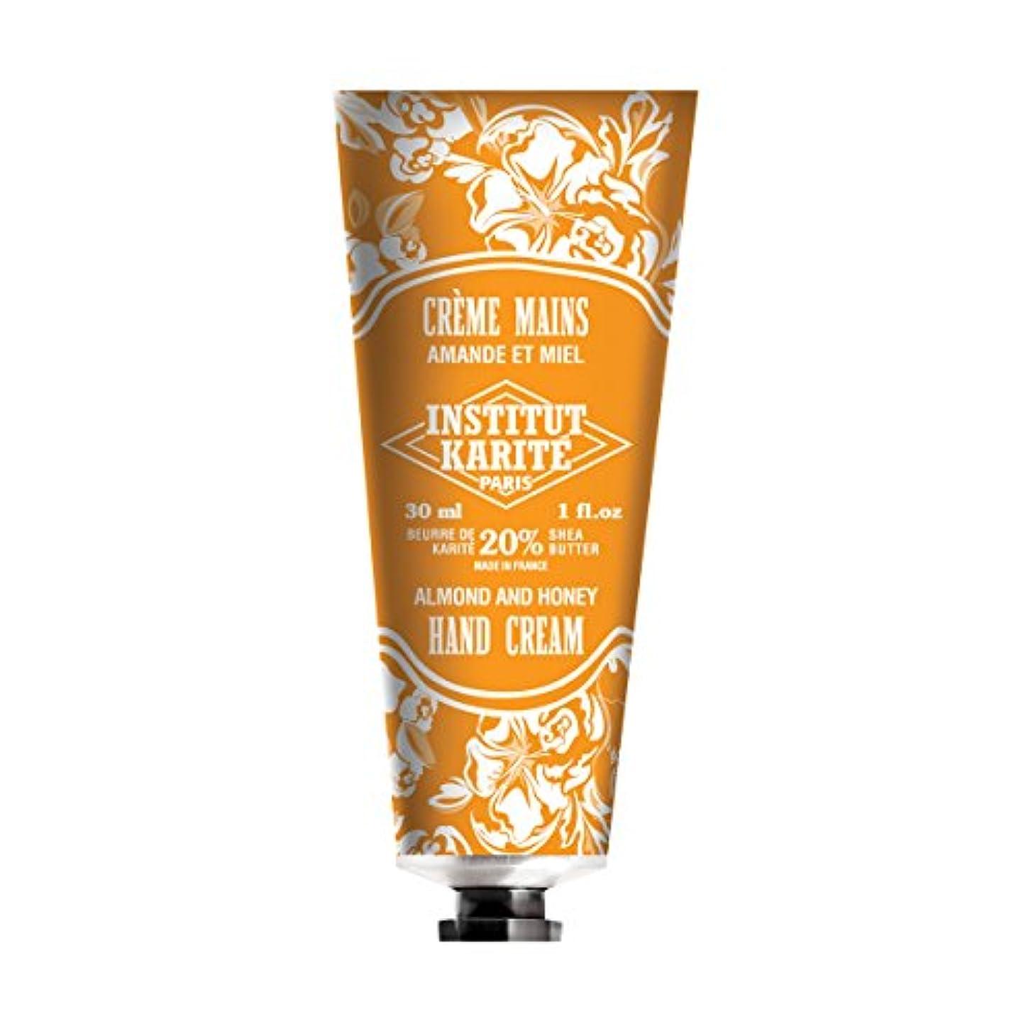 非常にエントリ急降下INSTITUT KARITE インスティチュート カリテ Hand Cream 30ml(ハンドクリーム)AMANDE ET MIEL アーモンドハニー