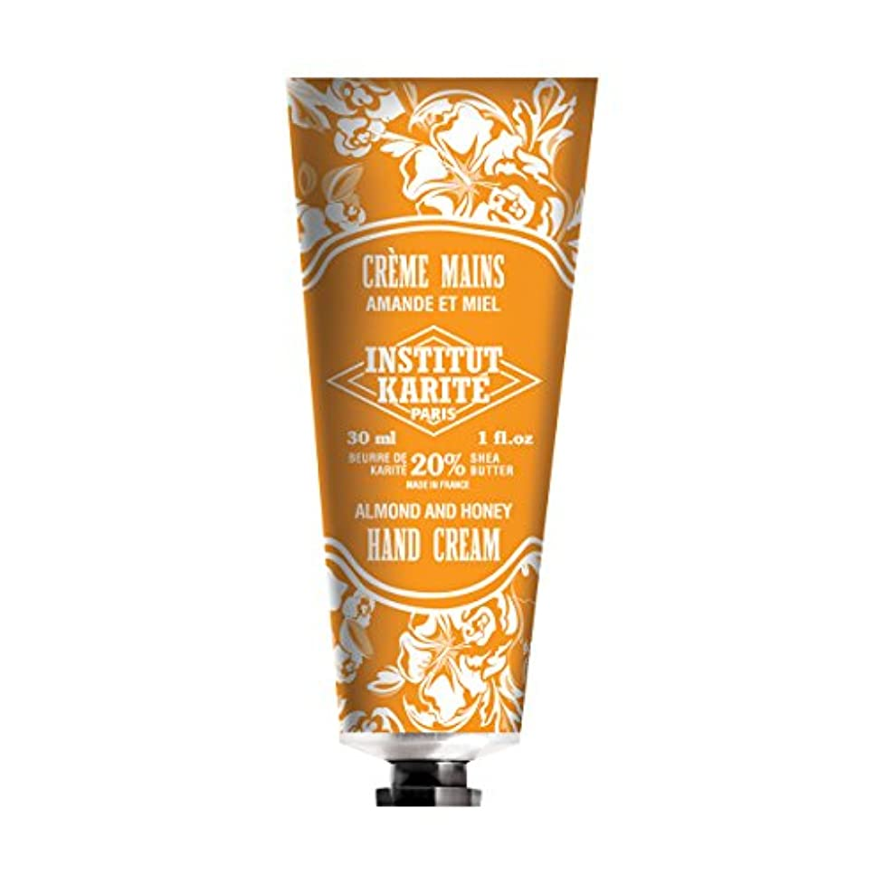 生活軍隊軸INSTITUT KARITE インスティチュート カリテ Hand Cream 30ml(ハンドクリーム)AMANDE ET MIEL アーモンドハニー