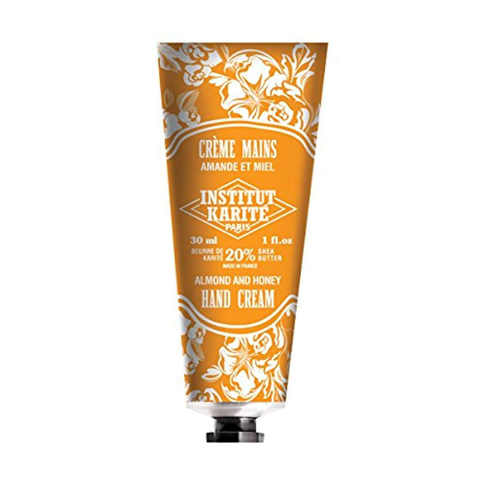 ランデブー汚染されたスパークINSTITUT KARITE インスティチュート カリテ Hand Cream 30ml(ハンドクリーム)AMANDE ET MIEL アーモンドハニー