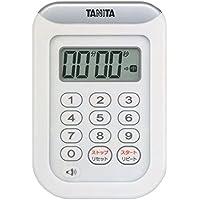 タニタ タイマー 防水 100分 ホワイト TD-378 WH