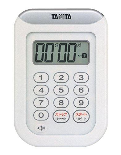 タニタ『デジタルタイマー 丸洗いタイマー100分計(TD-378)』