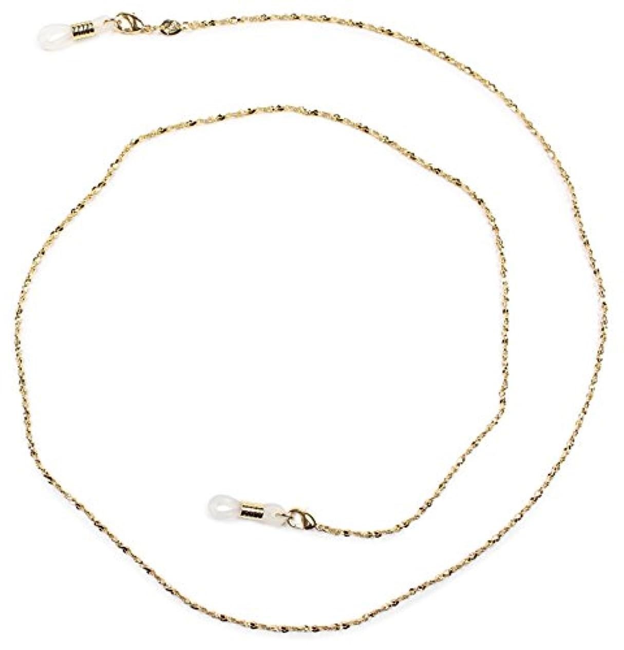 パール グラスコード 真鍮 72cm ゴールド CG-104