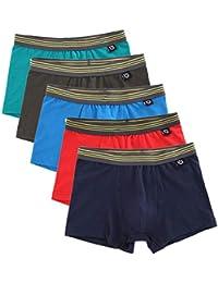 男の子下着ブリーフトランクス男児綿ボクサーパンツ5枚セットパンツ キッズ 子供