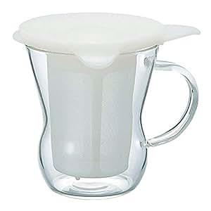 HARIO (ハリオ) ワンカップ ティー メーカー 200ml ホワイト OTM-1NW