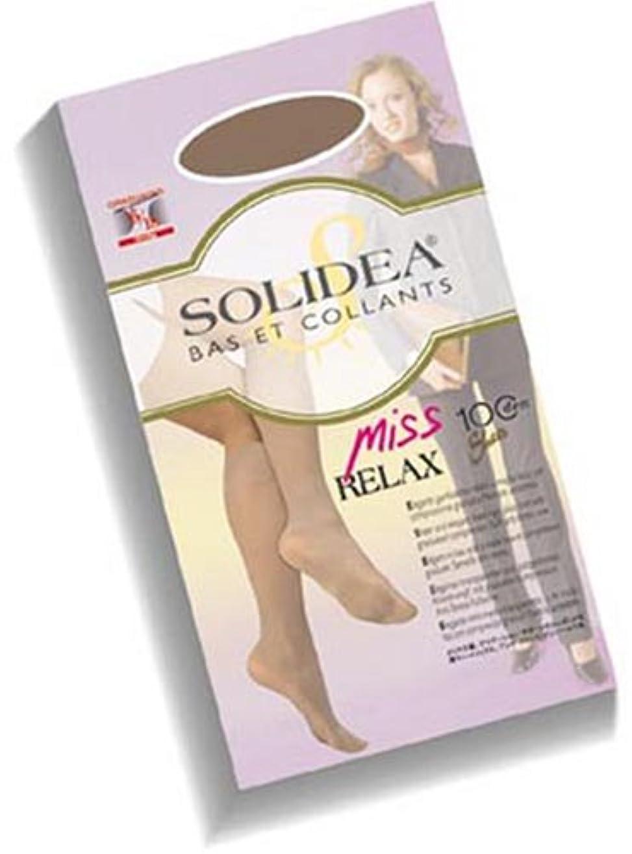 solidea ミスリラックス ブラック 100デニール M
