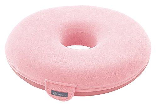 お医者さんの円座クッション ピンク