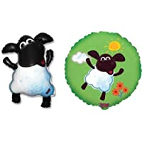 Timmy Time Sheep箔バルーン( 2パック、1の各デザイン