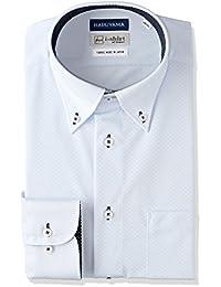 [ハルヤマ] i-Shirt 完全ノーアイロン 長袖 ボタンダウンアイシャツ M151180077