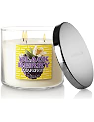 Slatkin and Co。Blackberryグレープフルーツ3つWick 14.5オンスScented Candle – Bath & Body Works