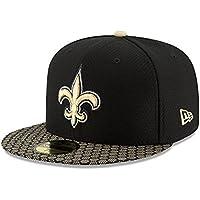 ニューエラ (New Era) 59フィフティ キャップ - NFL サイドライン 2017 ニューオリンズ?セインツ (New Orleans Saints)