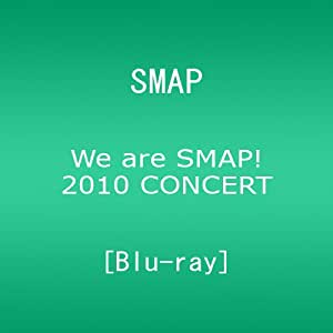 We are SMAP! 2010 CONCERT Blu-ray