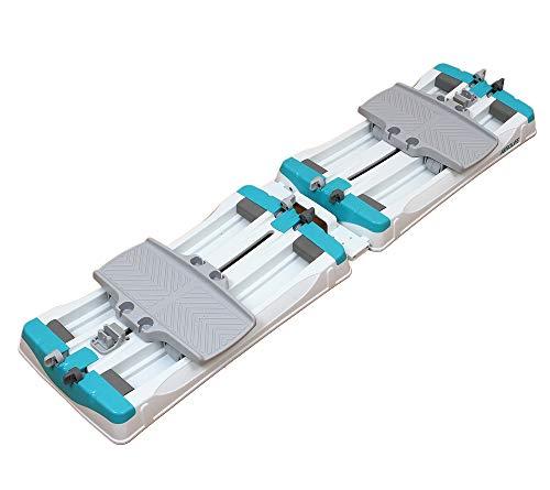 エアロライフ [公式] 内転筋スライダー [メーカー保証1年] 開閉運動 内転筋・腹筋を鍛える 筋トレ 1日1分の時短運動