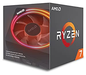AMD CPU Ryzen 7 2700X with Wraith Prism cooler YD270XBGAFBOX