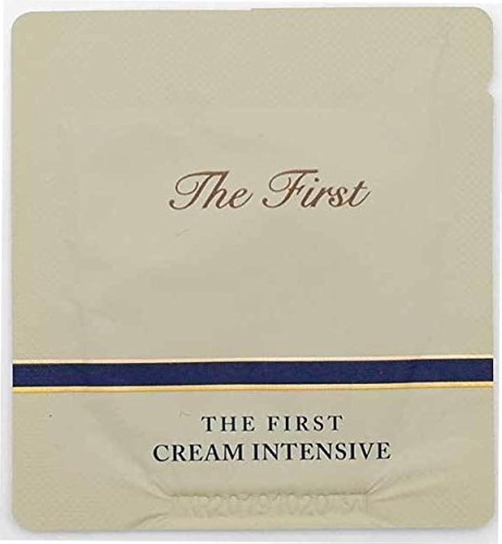誇張トン家庭教師[サンプル] OHUI The First Cream intensive 1ml × 30ea/オフィ ザ ファースト クリーム インテンシブ 1ml × 30個