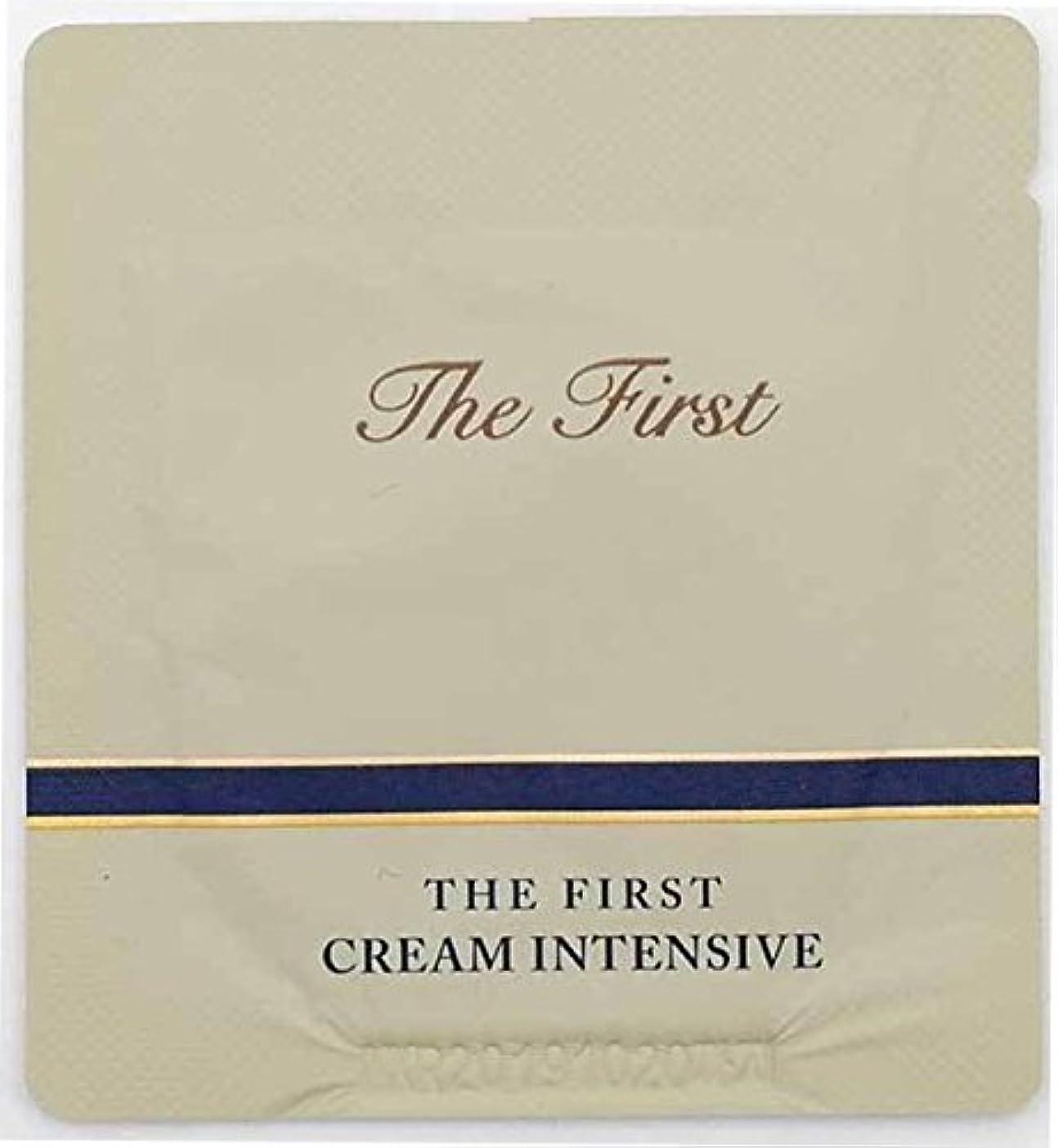 連続的カプセル何故なの[サンプル] OHUI The First Cream intensive 1ml × 30ea/オフィ ザ ファースト クリーム インテンシブ 1ml × 30個