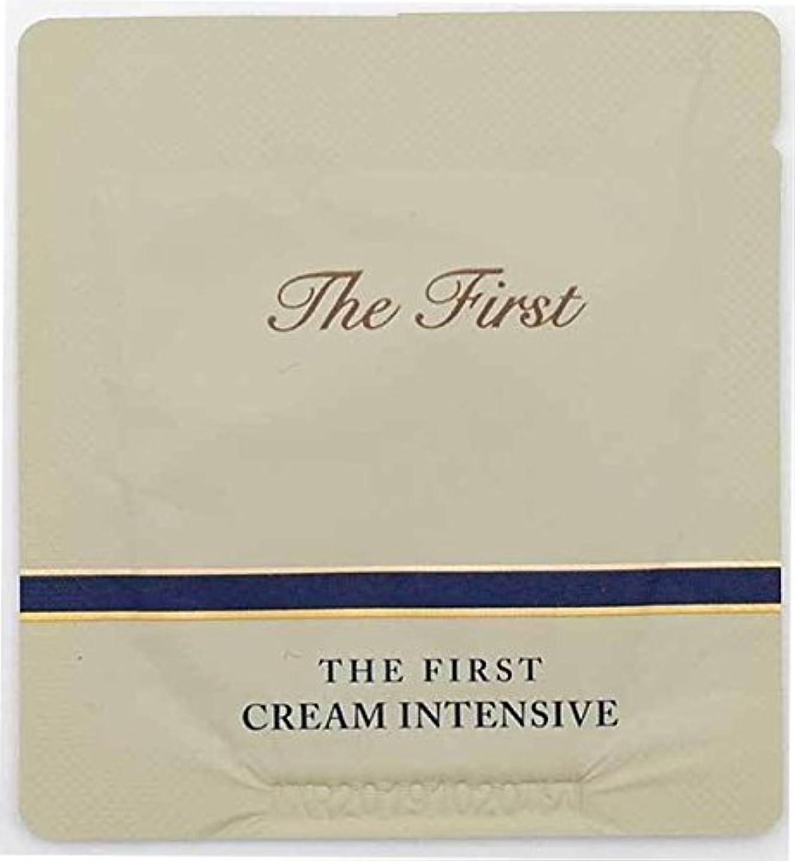 インサートリットル限りなく[サンプル] OHUI The First Cream intensive 1ml × 30ea/オフィ ザ ファースト クリーム インテンシブ 1ml × 30個