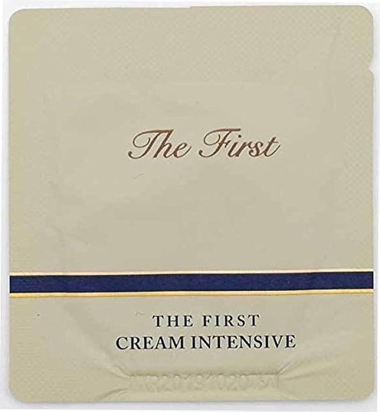 市長軽寝具[サンプル] OHUI The First Cream intensive 1ml × 30ea/オフィ ザ ファースト クリーム インテンシブ 1ml × 30個