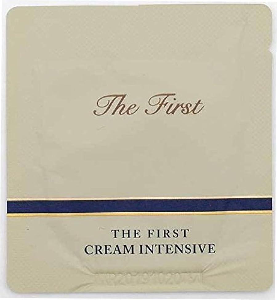 眠りパネルティーム[サンプル] OHUI The First Cream intensive 1ml × 30ea/オフィ ザ ファースト クリーム インテンシブ 1ml × 30個