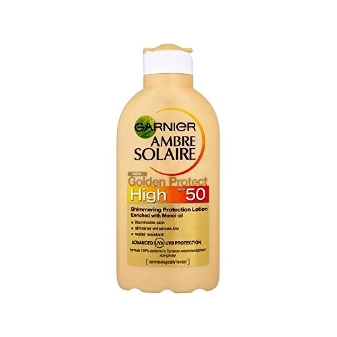 ポイント金曜日ヒョウGarnier – Ambre Solaire – Golden Protect – Sonnenmilch inkl. Hautpflegender Schutz zur Erhaltung der Bräune – ...