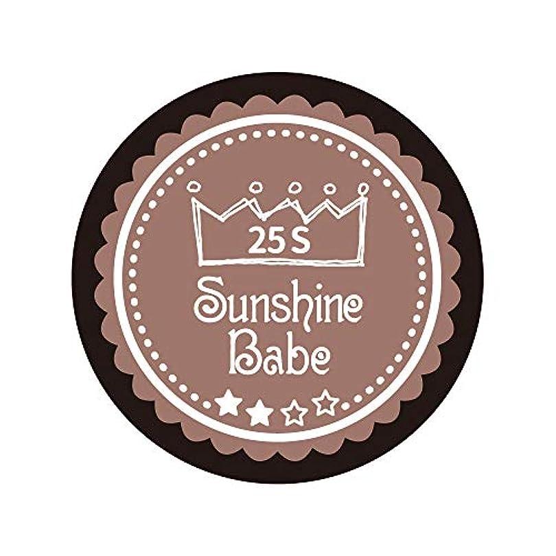並外れて注目すべき受け入れたSunshine Babe カラージェル 25S ミルキーココア 2.7g UV/LED対応