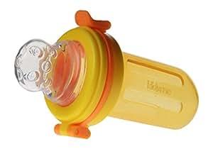キッズミー 4か月からの離乳食フィーダー チューチューモグフィ 【日本正規品】 おかゆやスープなどの離乳食用 オレンジ