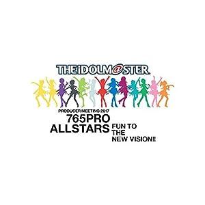 【Amazon.co.jp限定】 THE IDOLM@STER PRODUCER MEETING 2017 765PRO ALLSTARS -Fun to the new vision!!- Event Blu-ray PERFECT BOX [ プロミ ] (765プロ ロゴ使用スタッフ風Tシャツ&2Lブロマイド&B3サイズ告知ポスター付)