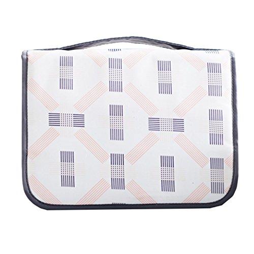 [해외]5 색 여행 파우치 세면 용품 지갑 화장품 가방 여행 가방 욕실 파우치 벨크로 후크 수납 가방 화장품 파우치 매달아 여행 편리 용품 소품 정리/5 color Travel Pouch Washbasin Tool Putting Cosmetic Pouch Travel Bag Bathroom Pouch Velcro Tape ...
