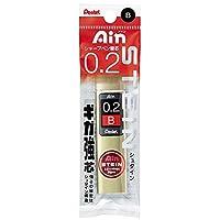 ぺんてる シャープペン替芯 アイン シュタイン 0.2mm B XC272W-B 5個