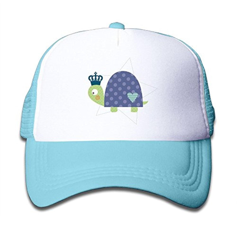 タートル カメ 素敵 かわいい おもしろい ファッション 派手 メッシュキャップ 子ども ハット 耐久性 帽子 通学 スポーツ