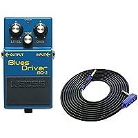 BOSS コンパクトエフェクター Blues Driver BD-2 + 3m ギターケーブル VOX VGS-30 セット