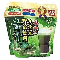 新日配薬品 4種の九州産野菜青汁 40袋×10個【×2ケース:合計20個入】