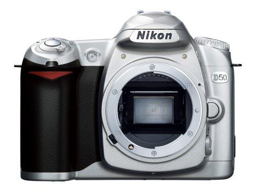 Nikon D50 シルバー デジタル一眼レフカメラ ボディ単体 D50S