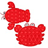 2021 New Creative Sensory Fidget Toys, Pop Push Bubble Special Needs Toys for Kids, Food Grade Silicone Relieving Stress Toys