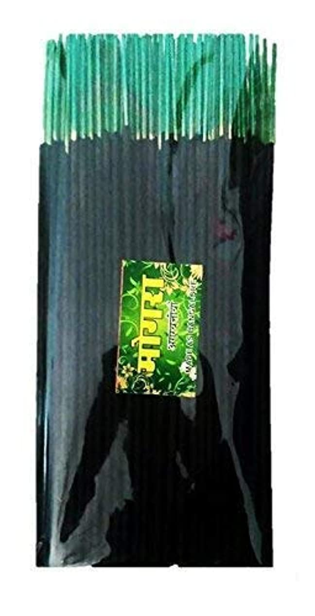 とんでもない膨らませるハブブGanga Jamuna Mogra Poojan Samagri Agarbatti Incense Sticks,400 Gm,Black