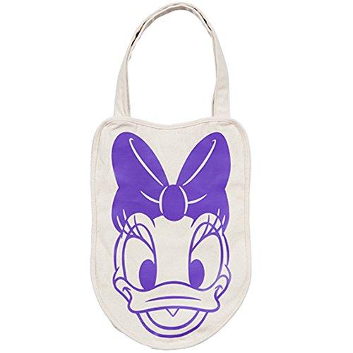デイジー デイジーダッグ トートバッグ バッグ 鞄 フェイス 紫 パープル ( 東京 ディズニーリゾート限定 ディズニー グッズ )