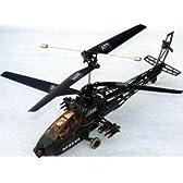 ラジオコントロールヘリコプター アパッチタイプ 2ch 14736