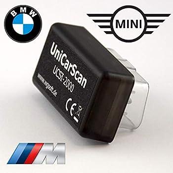 (正規輸入品)UniCarScan UCSI-2000 Bluetooth アダプター スマホ タブレット コーディング BMW MINI BIMMERCODE BIMMERLINK アプリ対応 BMW F・Gシリーズ対応 G30 G31 F90 G11 G12 G32 G01 G02 G05 G07 G14 G15 Fシリーズ MINI F55 F56 F57 F60 TVナビキャンセラー・デイライト等の施工可能