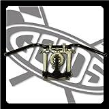 GOODS : SR400/500※(~'84)ディスクブレーキ車 オールドバーLow・ハンドル(ブラック)  ロングワイヤー、ブレーキホースセット