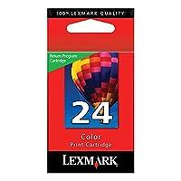 Lexmark # 24x3430/ x3550x4550/ z1420カラー印刷カートリッジプログラム戻り実用的耐久性新しい