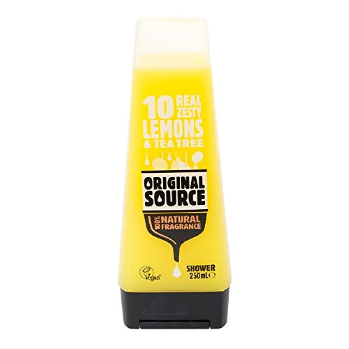 趣味皮肉な適性Cussons Lemon and Tea Tree Original Source Shower Gel by PZ CUSSONS (UK) LTD