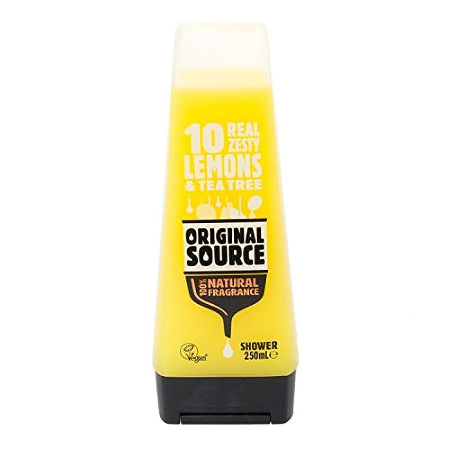 残酷な色合いふつうCussons Lemon and Tea Tree Original Source Shower Gel by PZ CUSSONS (UK) LTD