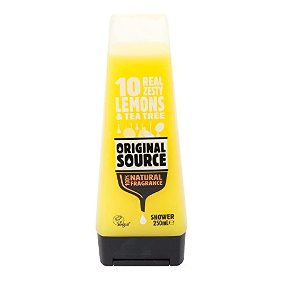 レモン信条証明するCussons Lemon and Tea Tree Original Source Shower Gel by PZ CUSSONS (UK) LTD