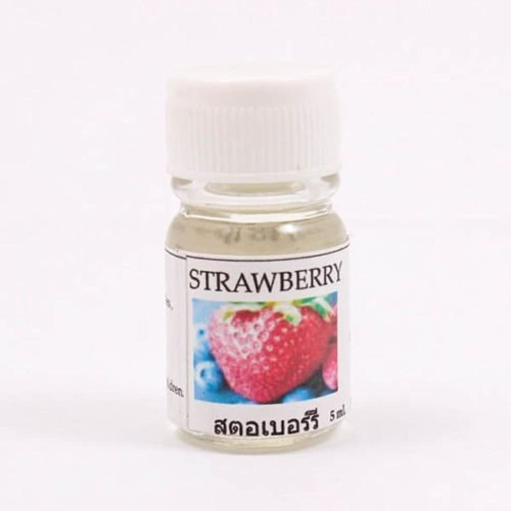 処理するおしゃれじゃない致命的な6X Strawberry Aroma Fragrance Essential Oil 5ML cc Diffuser Burner Therapy