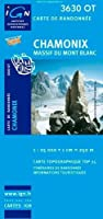 Chamonix / Massif Du Mont Blanc 2012 (Ign Map)