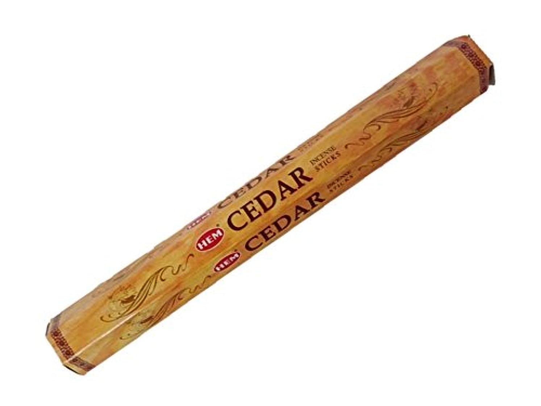 エンティティふくろうセンチメートルHEM(ヘム)お香:シダー スティックお香/インセンス/1箱